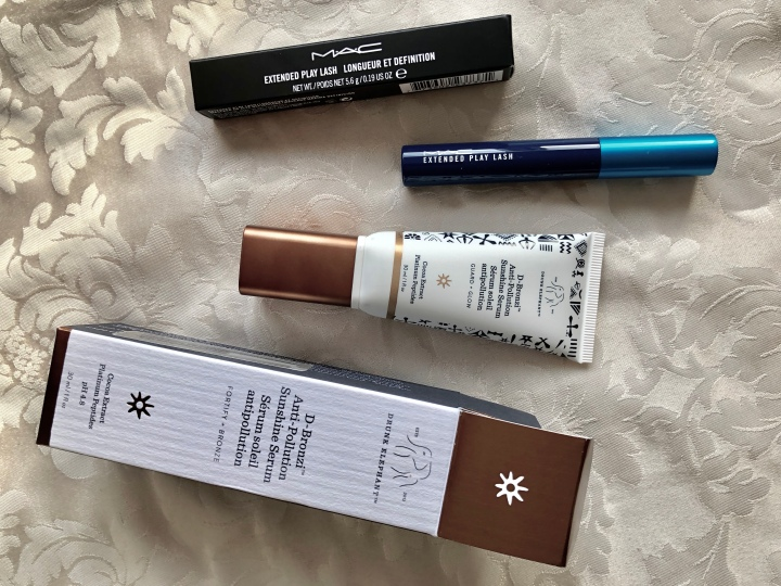 First impressions: D-Bronzi Serum and Extended Play Lash