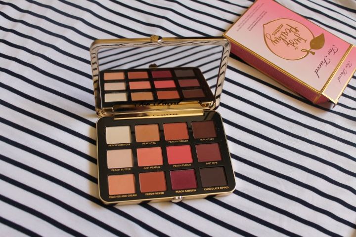 First impressions: Too Faced's Peach palette